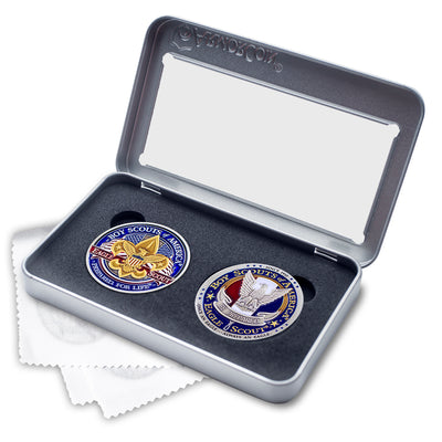 Eagle Scout Double Coin Gift Set