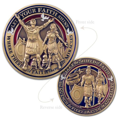 Faith in God Award Medallion