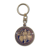 Faith in God Keychain