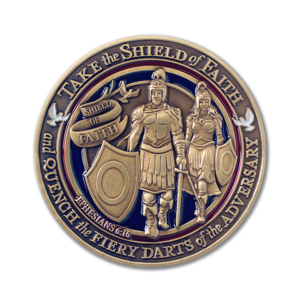 Faith in God Medallion