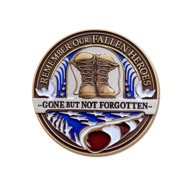 Fallen Hero Memorial Flag Coin