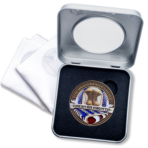 Fallen Hero Coin Gift Box