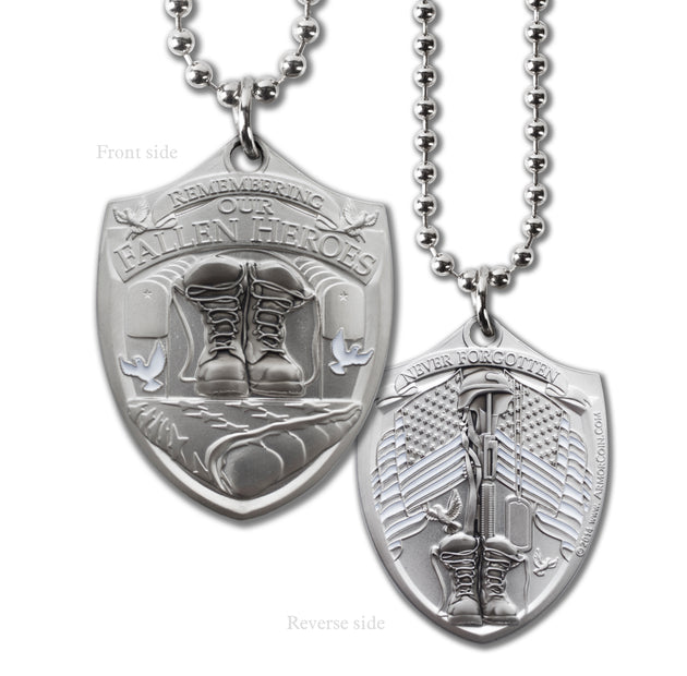 Fallen Hero Military Style Dogtag