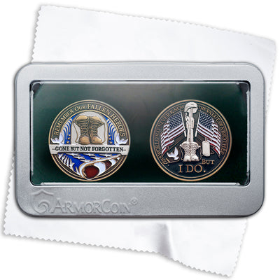 Fallen Hero Challenge Coin Gift Box Set