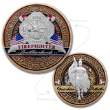 Firefighter Saint Florian Challenge Coin
