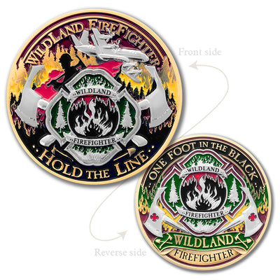 Wildland Firefighter coin