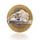 Law Enforcement Brotherhood Challenge Coin · Saint Michael Coin · Morale Coin