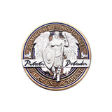 Saint Michael Logo Coin