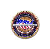 USA Flag Challenge Coin