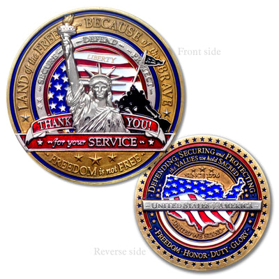 Military Appreciation Coin