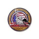 Statue of Liberty Military Coin