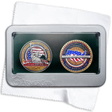 Military Thank you Two Coin Gift Set