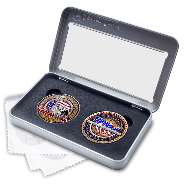 Military Appreciation Double Coin Gift Set