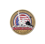 Statue of Liberty Veteran Challenge Coin