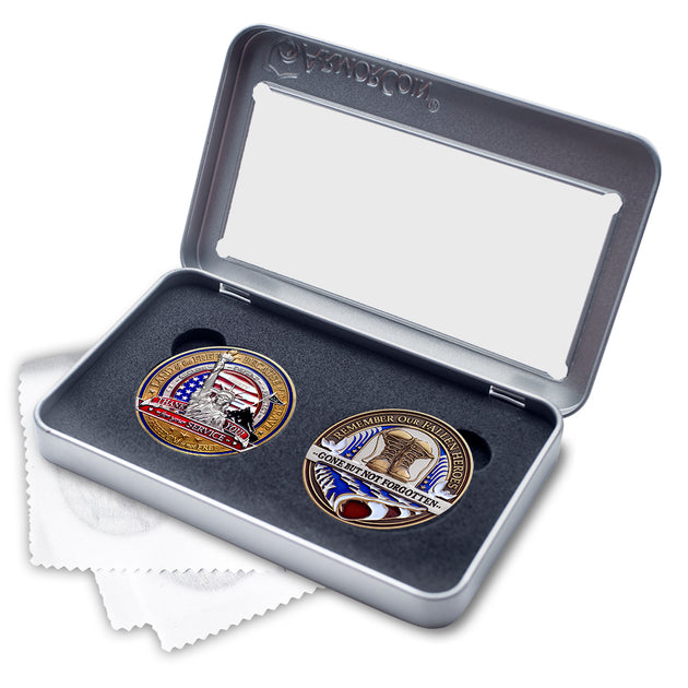 Fallen Hero and Military Appreciation Gift Set