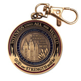 LDS Missionary Key Chain