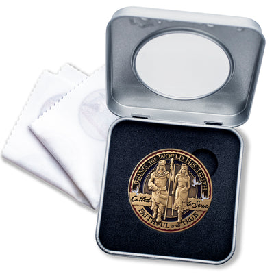 LDS Missionary Medallion Gift Box