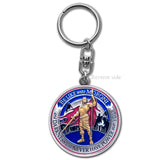 Title of Liberty key chain