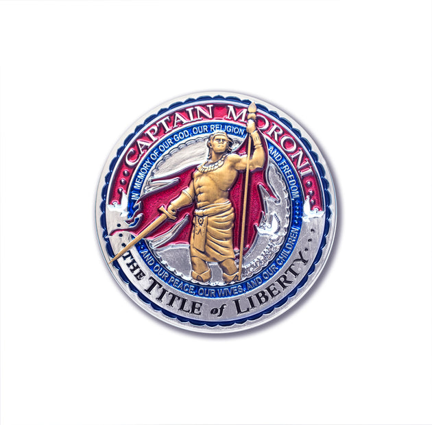 Captain Moroni Medallion