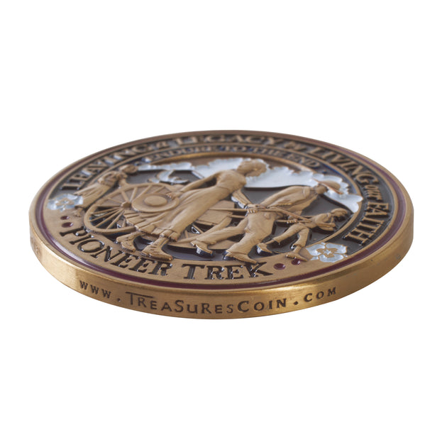 Pioneer Trek Coin side view