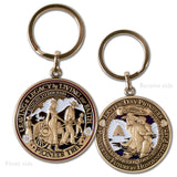 Pioneer Trek Key Chain