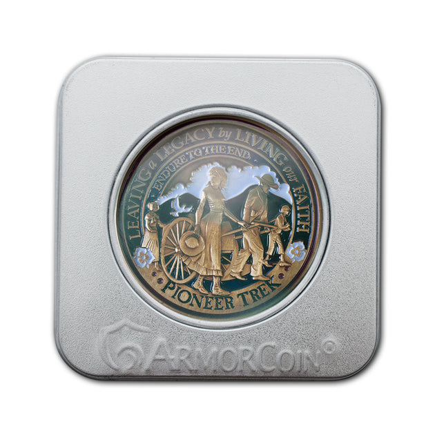 Pioneer Trek Coin gift box