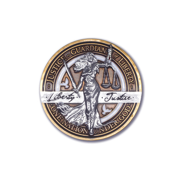 Lady Justice Coin