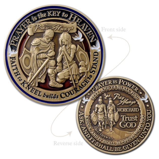 Prayer Challenge Coin