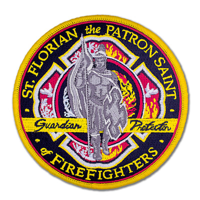 Saint Florian Firefighter Patch