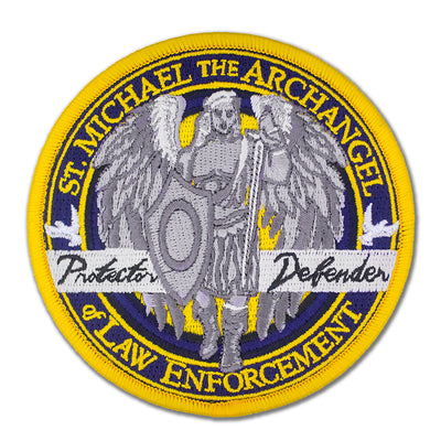 Saint Michael Embroidered Patch