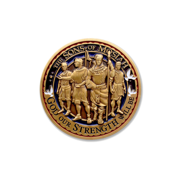 Sons of Mosiah scripture coin
