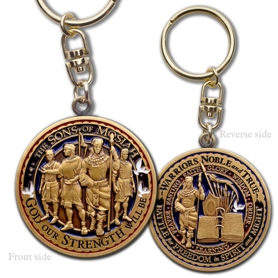 Sons of Mosiah Key Chain