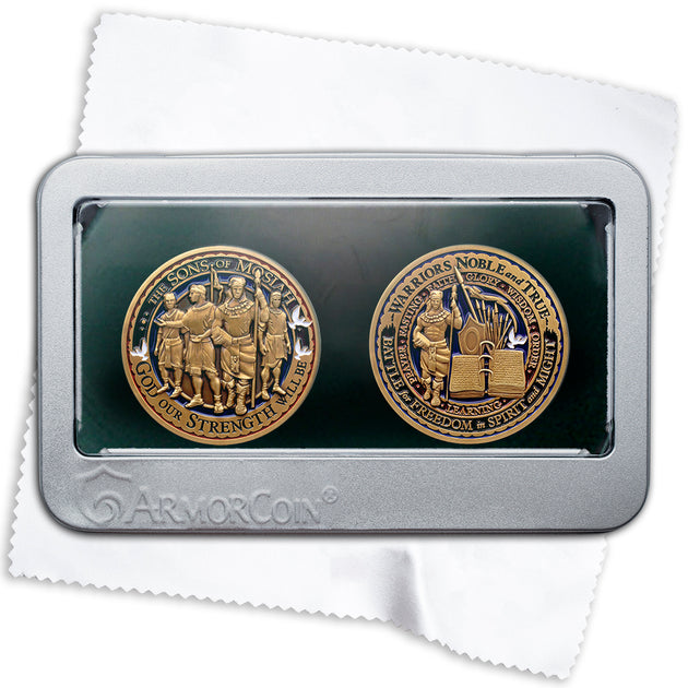 Sons of Mosiah Medallion double gift set