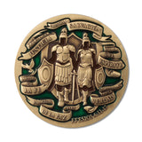 Spanish Armor of God Gift Coin