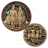 Spanish Armor of God Coin