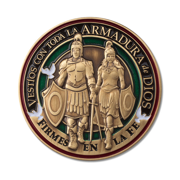 Spanish Armor of God Soldiers