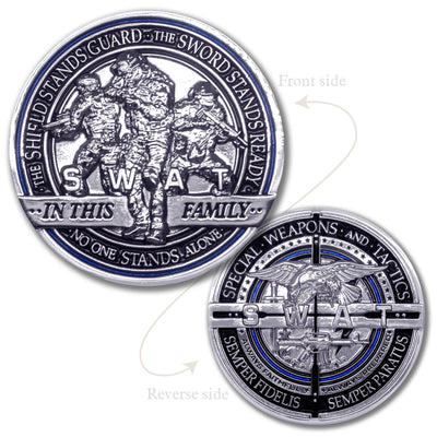SWAT Team Challenge Coin
