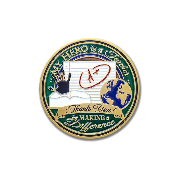 Teaching Emblems Gift Medallion