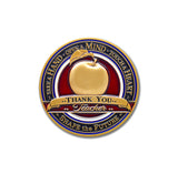 Teachers Apple Gift coin