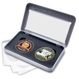 Apple for Teach two gift coin set