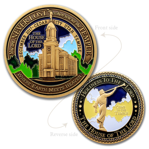 Cedar City LDS Temple token