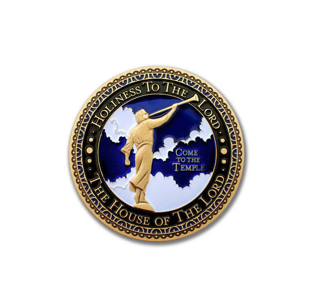 Angel Moroni Challenge Coin