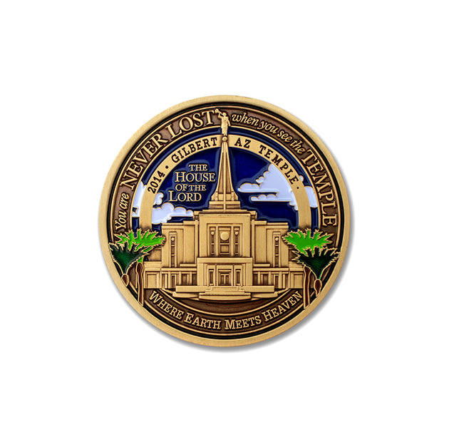 Gilbert Arizona Temple Medallion