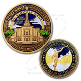 LDS Gilbert Arizona Temple token