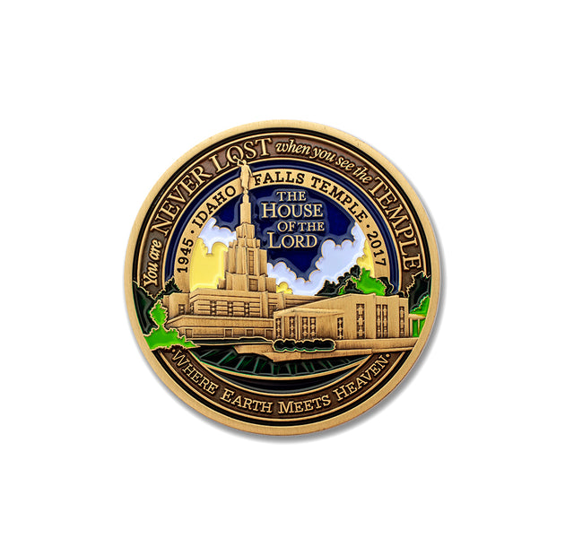 LDS Idaho Falls Medallion