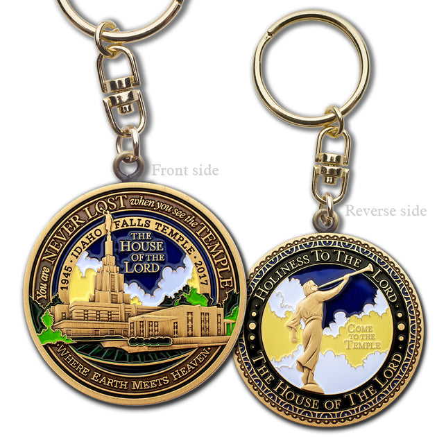 Idaho Falls Temple Key Chain