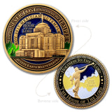 Meridian Temple Gift Coin