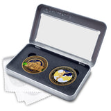 Meridian Idaho Temple Double Medallion Gift Set