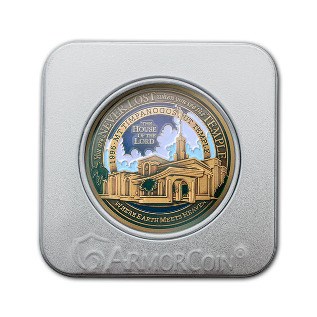 Mount Timpanogos Temple gift box