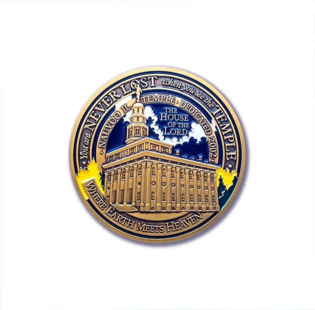 Nauvoo Temple Token